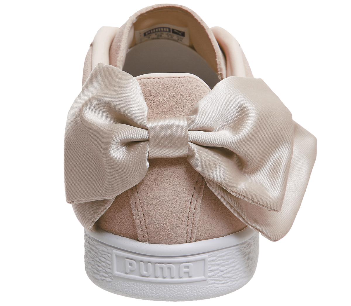 puma suede bow - donna scarpe