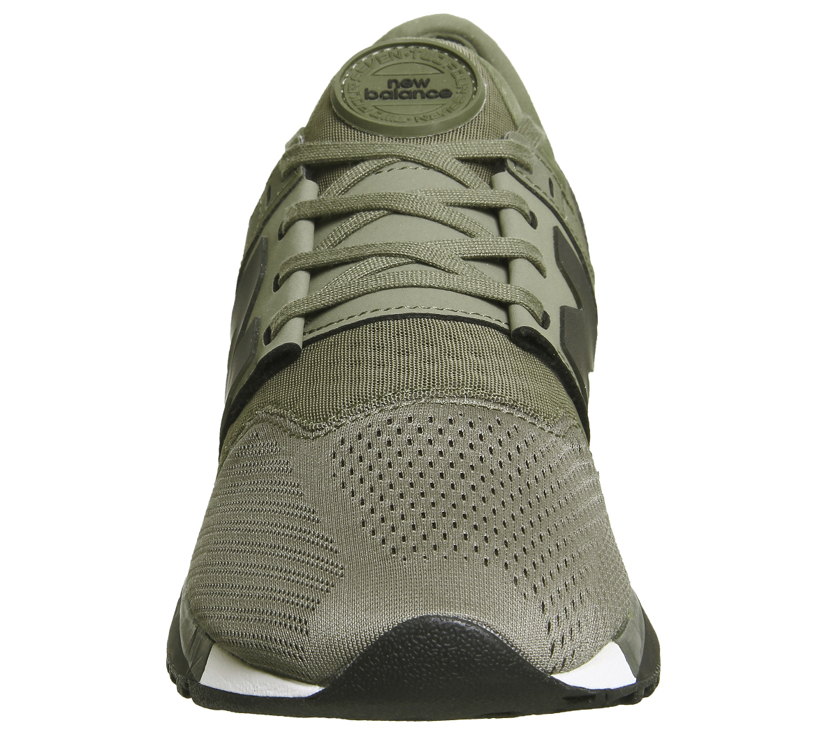 bb483af3612 Sentinel Mens New Balance 247 Trainers OLIVE Trainers Shoes