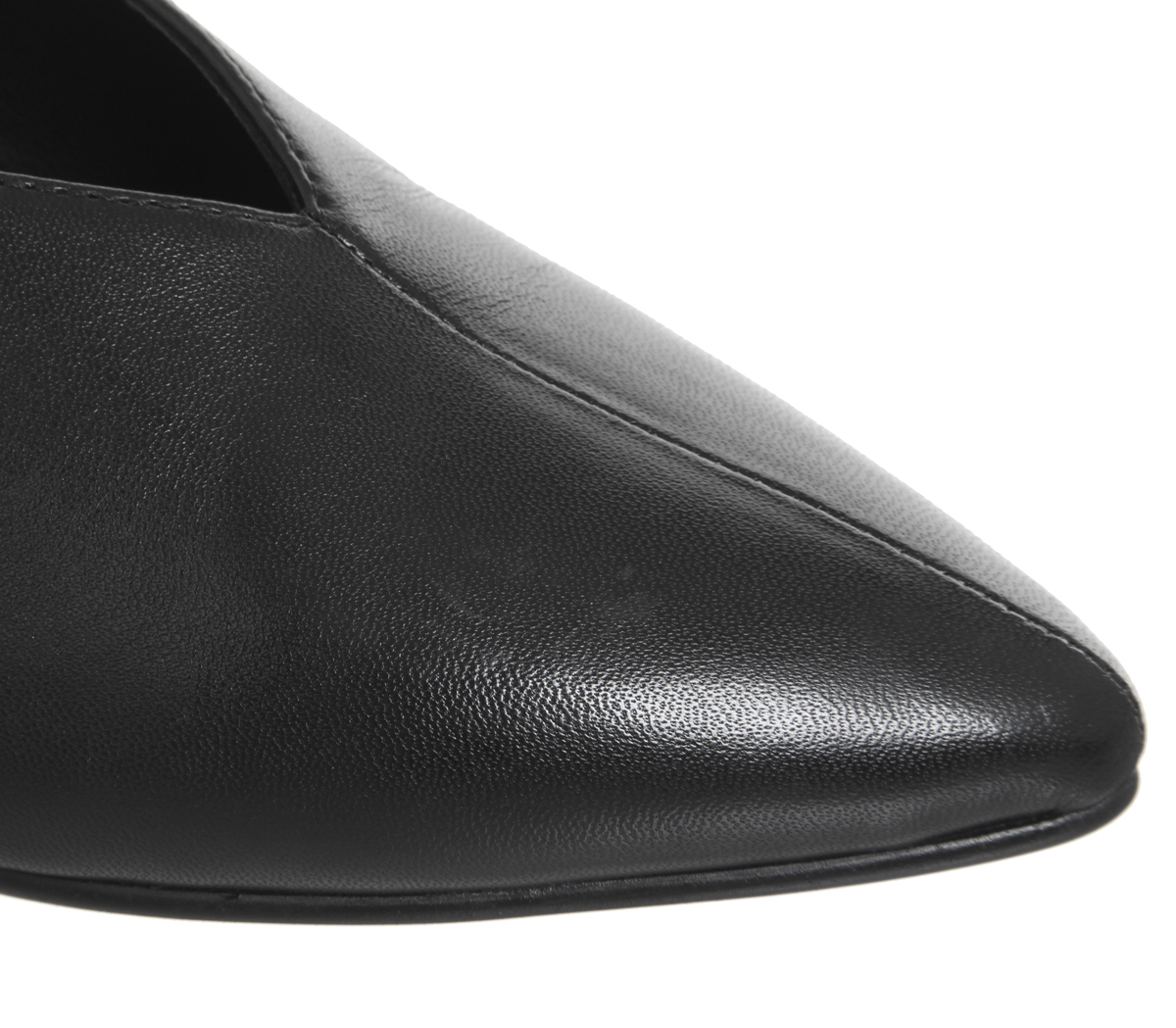 Black Vagabond Heels Womens Low Leather Minna BzSnA6qw