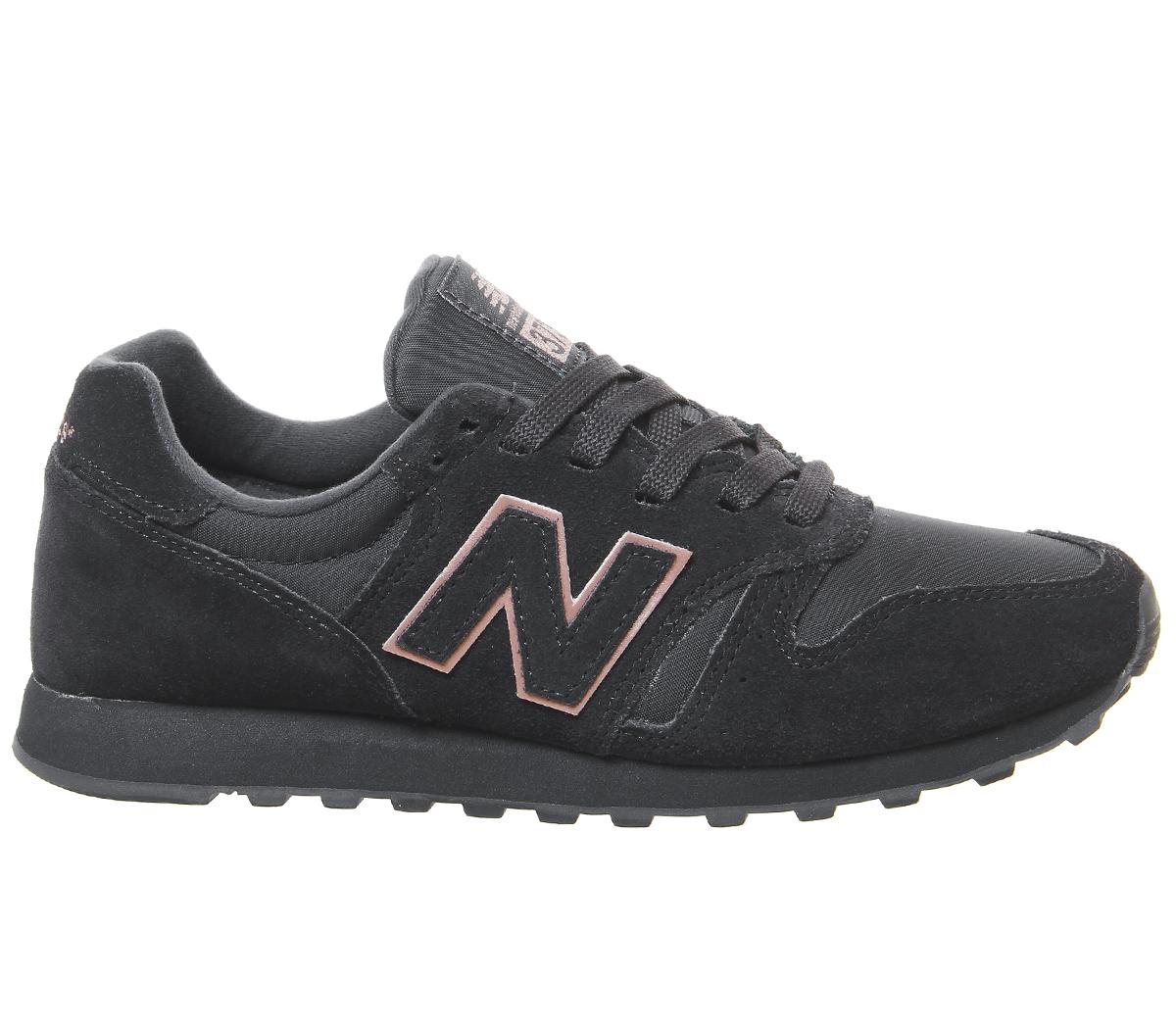 online store 7eb7f 139c4 Détails sur Chaussures Femme New Balance Wl373 Baskets Phantom Or Rose  Exclusive Trainers Shoes- afficher le titre d'origine