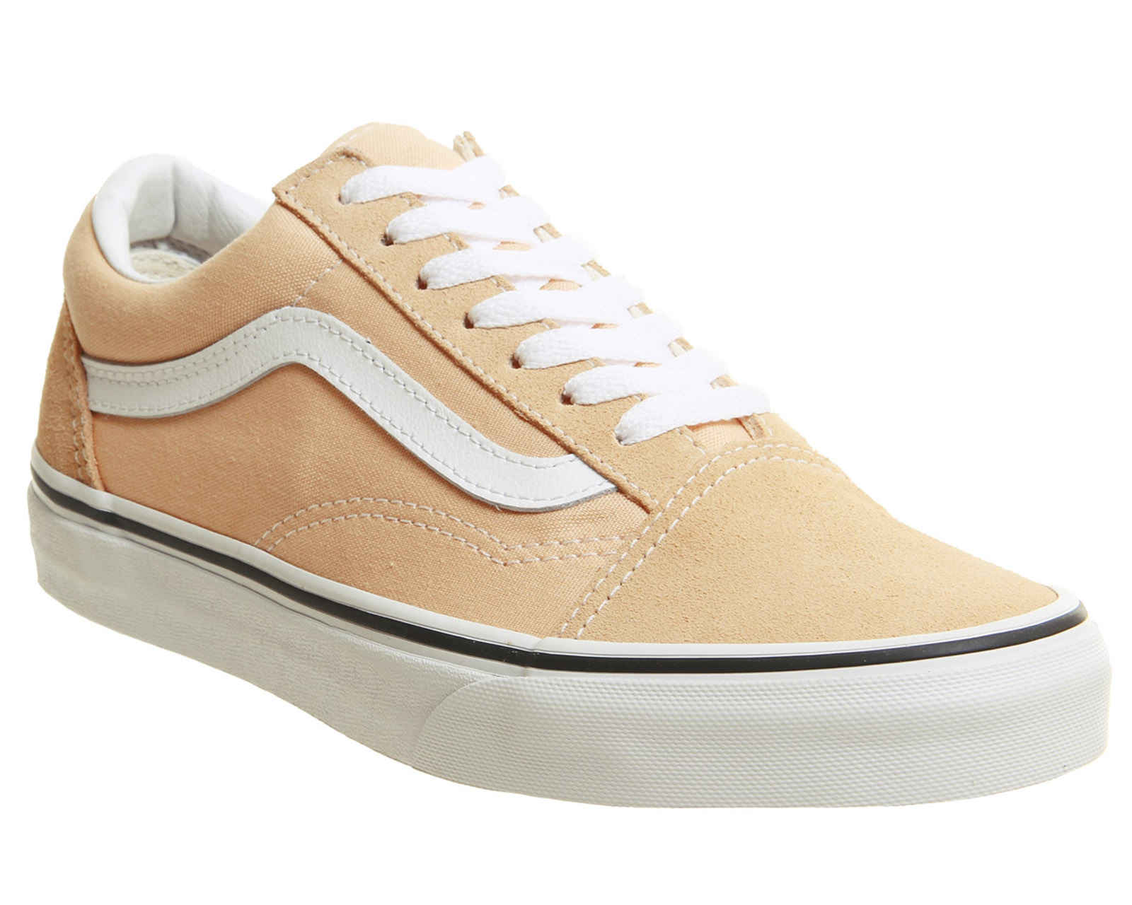 0581913b14d Sentinel Mens Vans Old Skool Trainers Bleached Apricot Trainers Shoes
