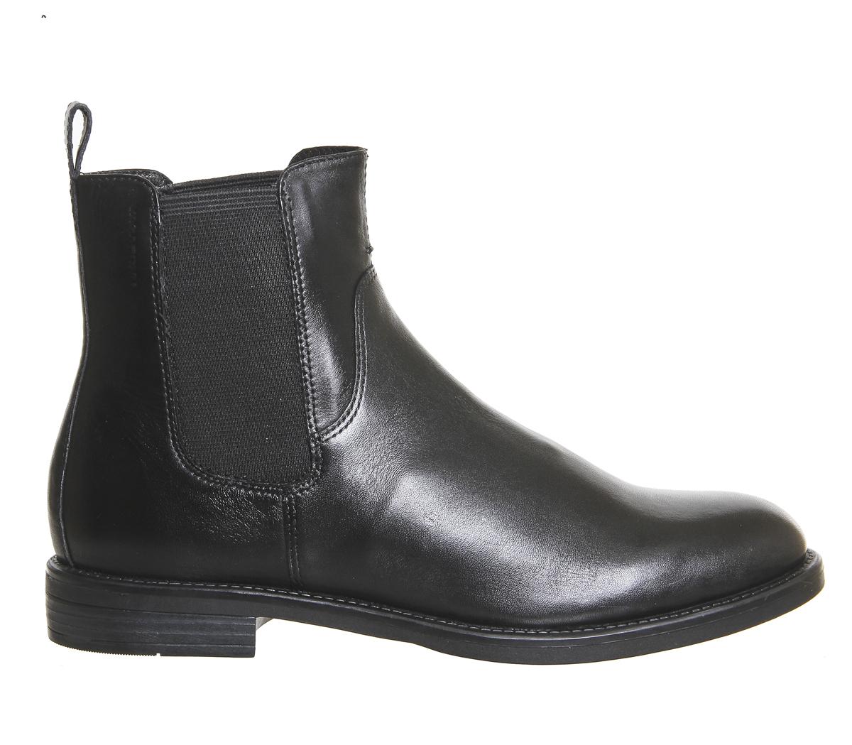 Damenschuhe Chelsea Vagabond Amina Chelsea Damenschuhe Stiefel BLACK LEATHER Stiefel ea5dfd