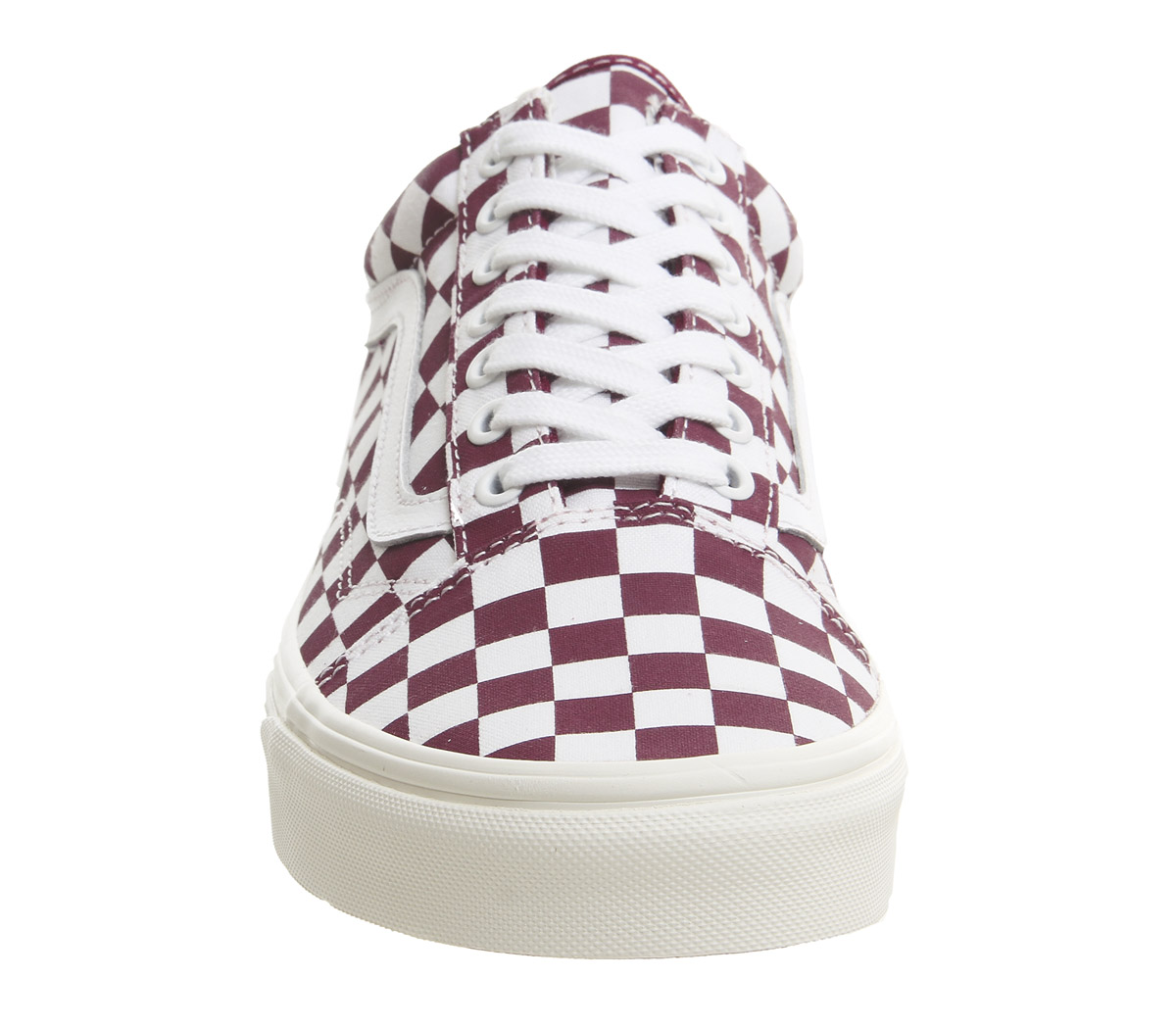 fff045bde8 Sentinel Mens Vans Old Skool Trainers Port Royale Marshmellow Checkerboard  Trainers Shoes