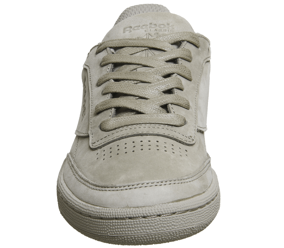 82487811643 Sentinel Reebok Club C85 Trainers BEACH STONE GOLD Trainers Shoes