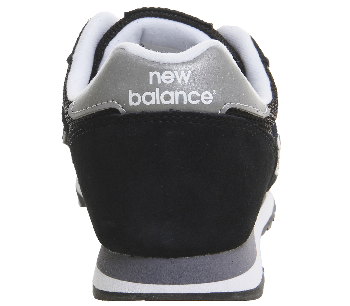 Uomo New Balance 373 Schuhes Trainers BLACK SILVER Trainers Schuhes 373 c5b45e
