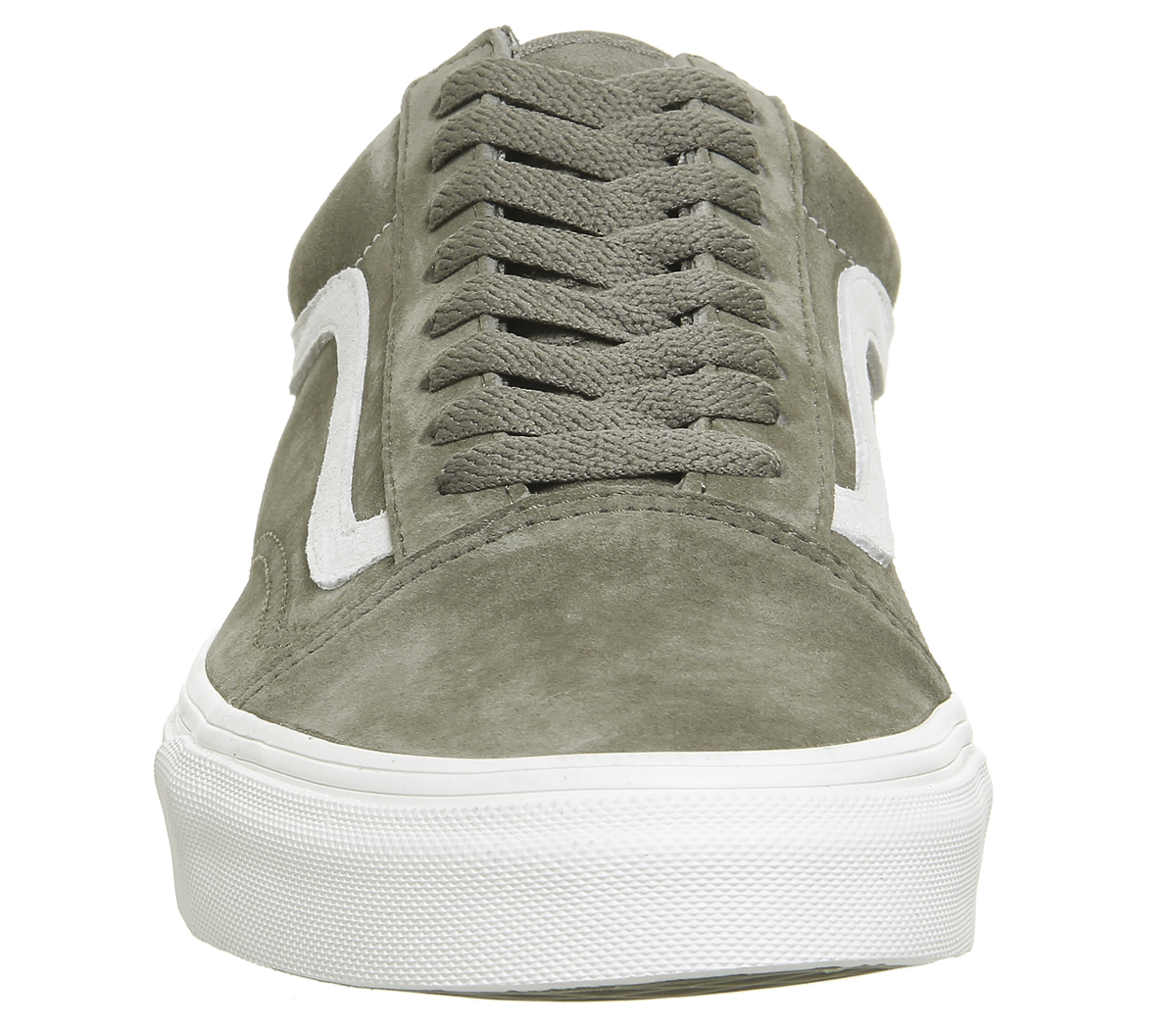 f4bf86ab164 Mens Vans Old Skool Trainers FALLEN ROCK BLANC Trainers Shoes