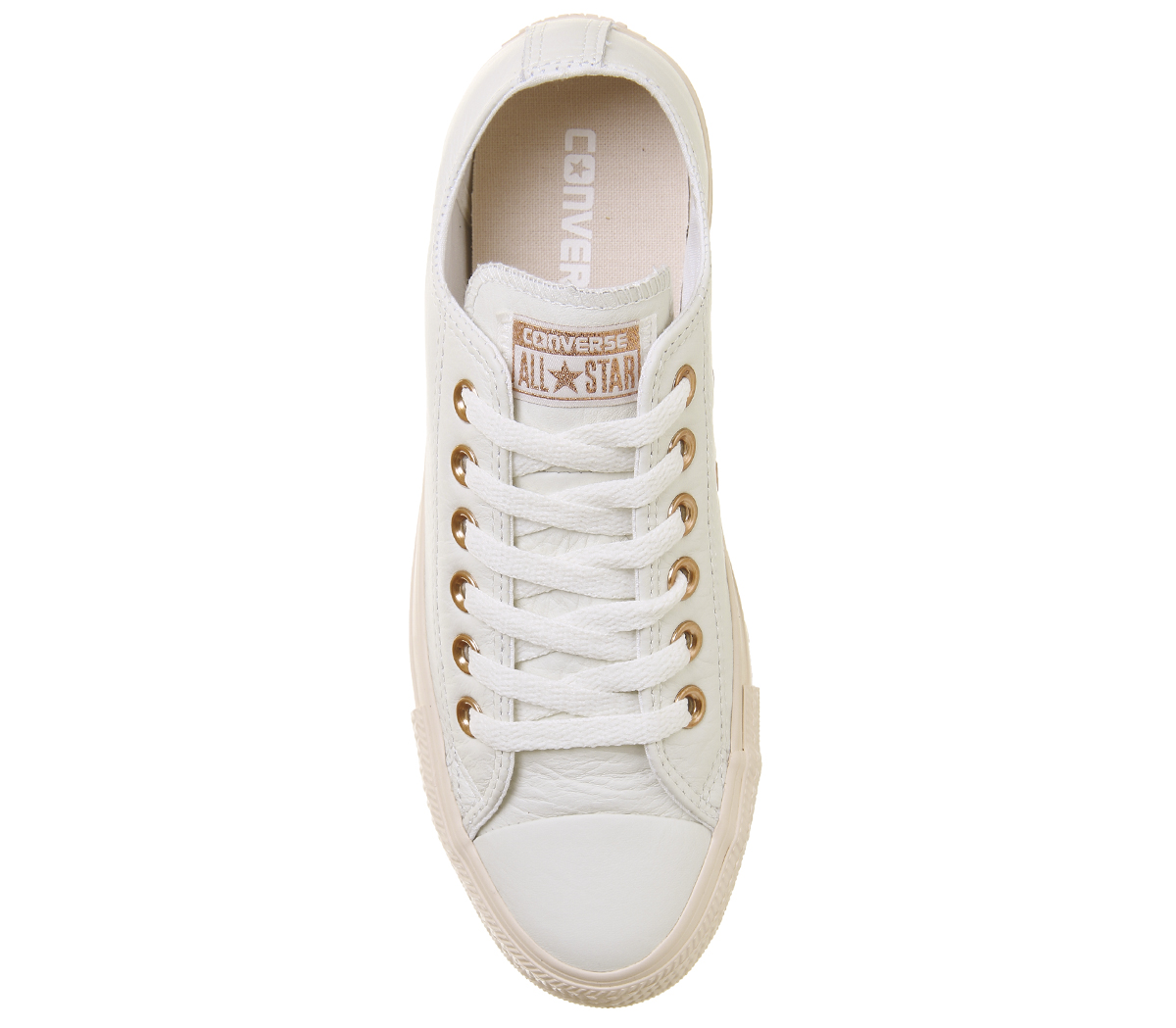 b0f544e50576 Womens Converse All Star Low Leather Pastel Rose Egret Blush Gold ...