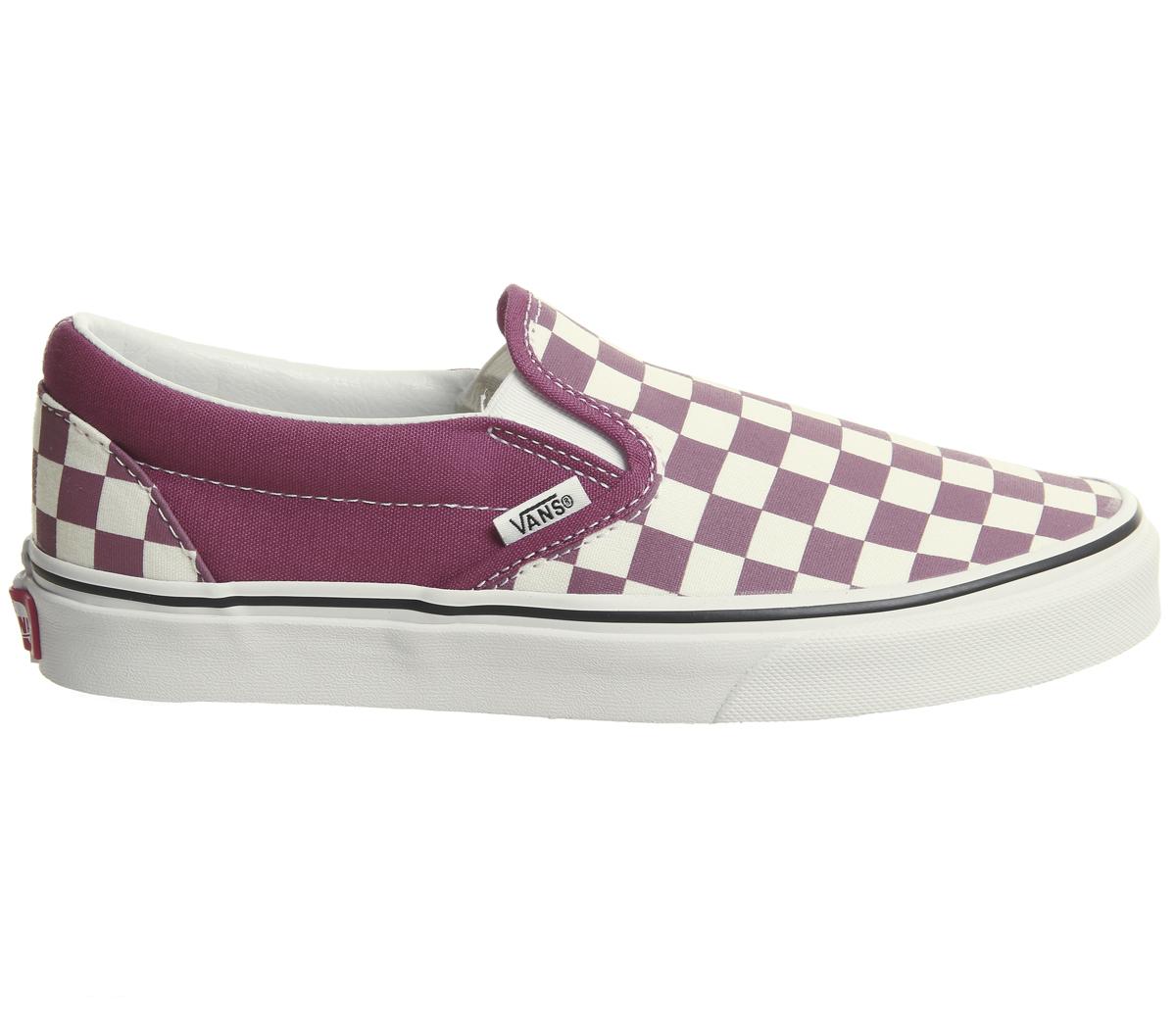 On Slip Vans Classic scarpe Dry Uomo Trainers Rose qtO4xAA