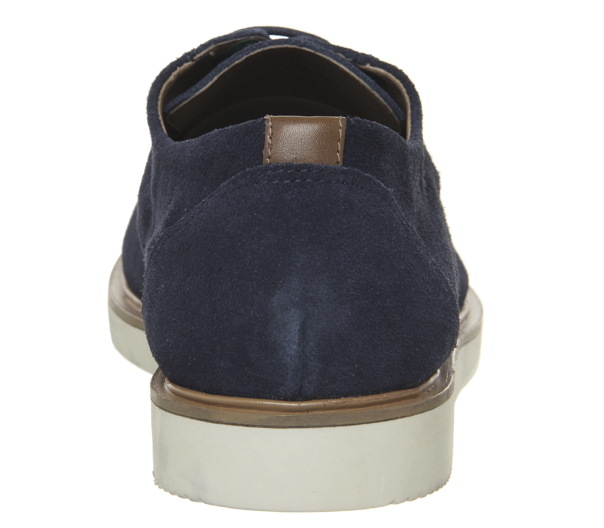 Mens-Office-Item-Derby-Shoes-Navy-Suede-Casual-Shoes thumbnail 7