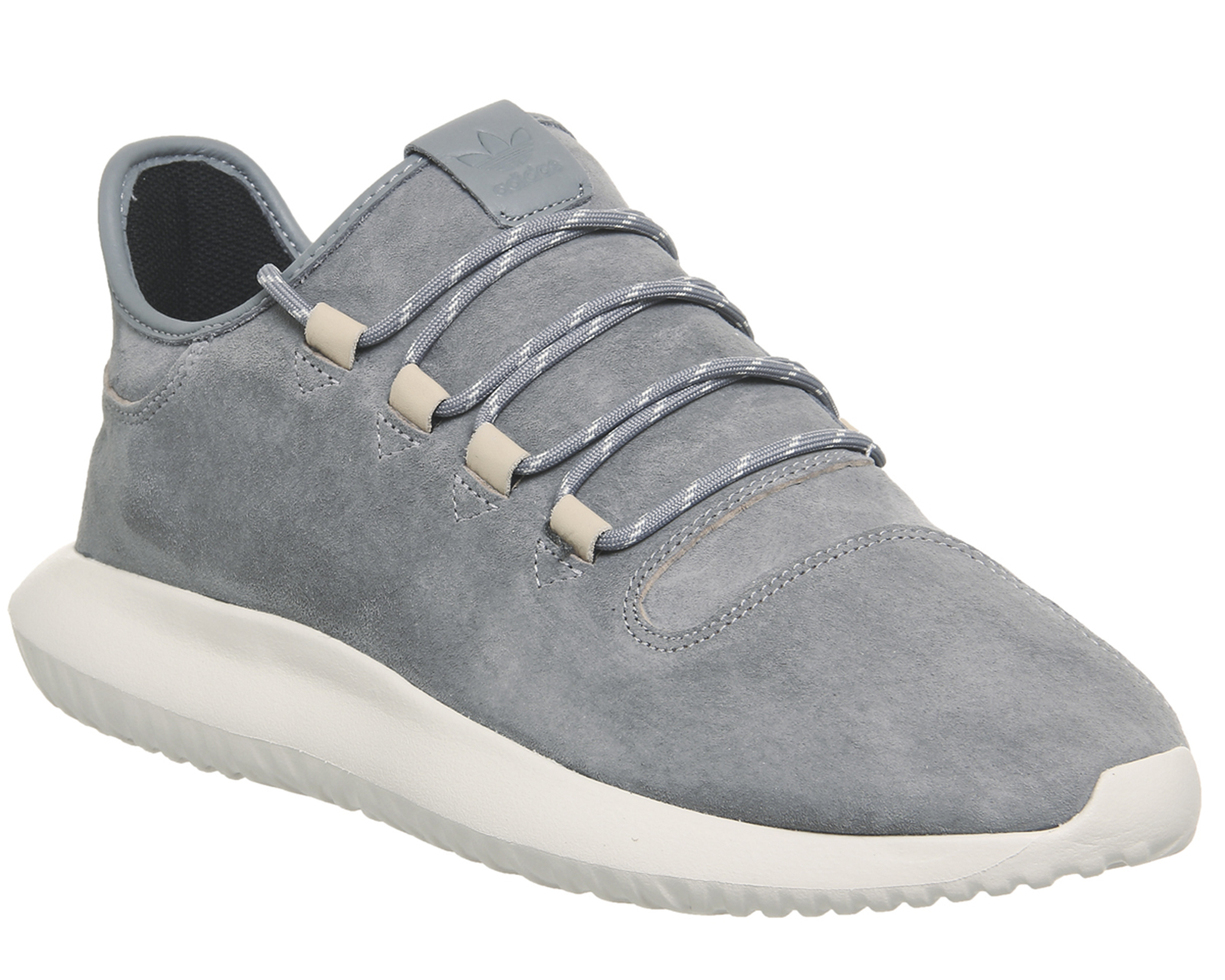 c9f83b72f93 Sentinel Mens Adidas Tubular Shadow GREY GREY OFF WHITE Trainers Shoes