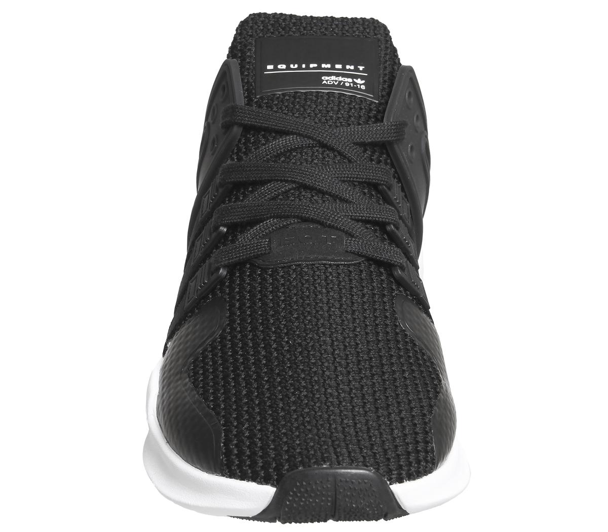 new styles 456e9 7a3e4 Mens-Adidas-Equipment-Support-Adv-BLACK-WHITE-STRIPE-