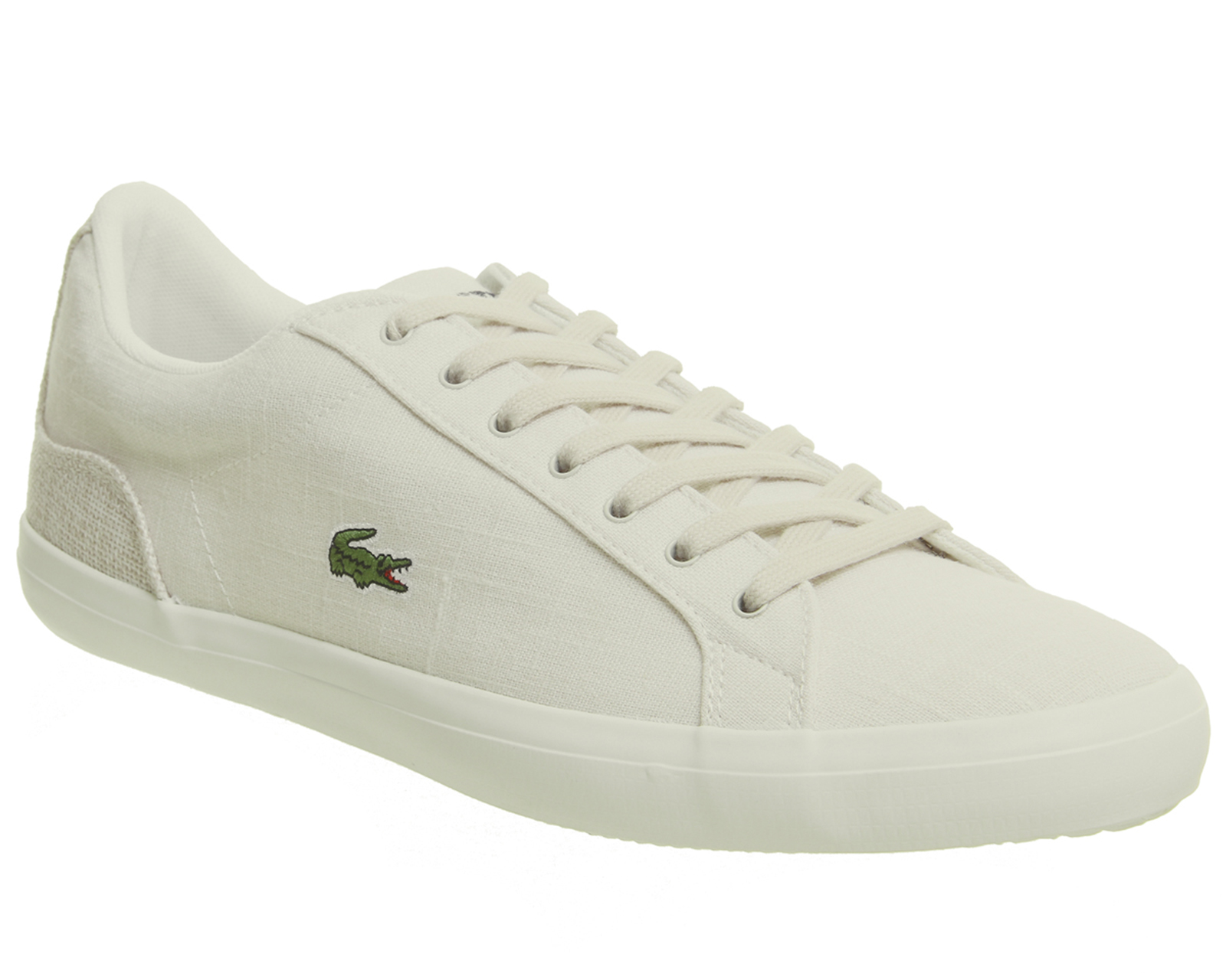 Sentinel Lacoste Lerond Trainers White Natural Trainers Shoes bf3282d6511