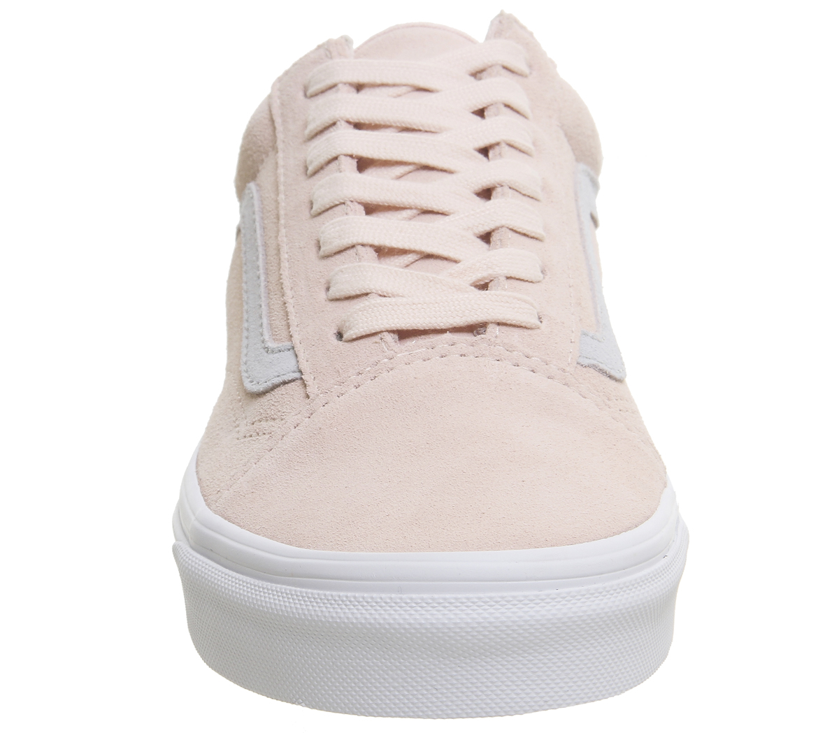 576de7b9e77548 Mens Vans Old Skool Trainers PALE PINK GREY EXCLUSIVE Trainers Shoes ...