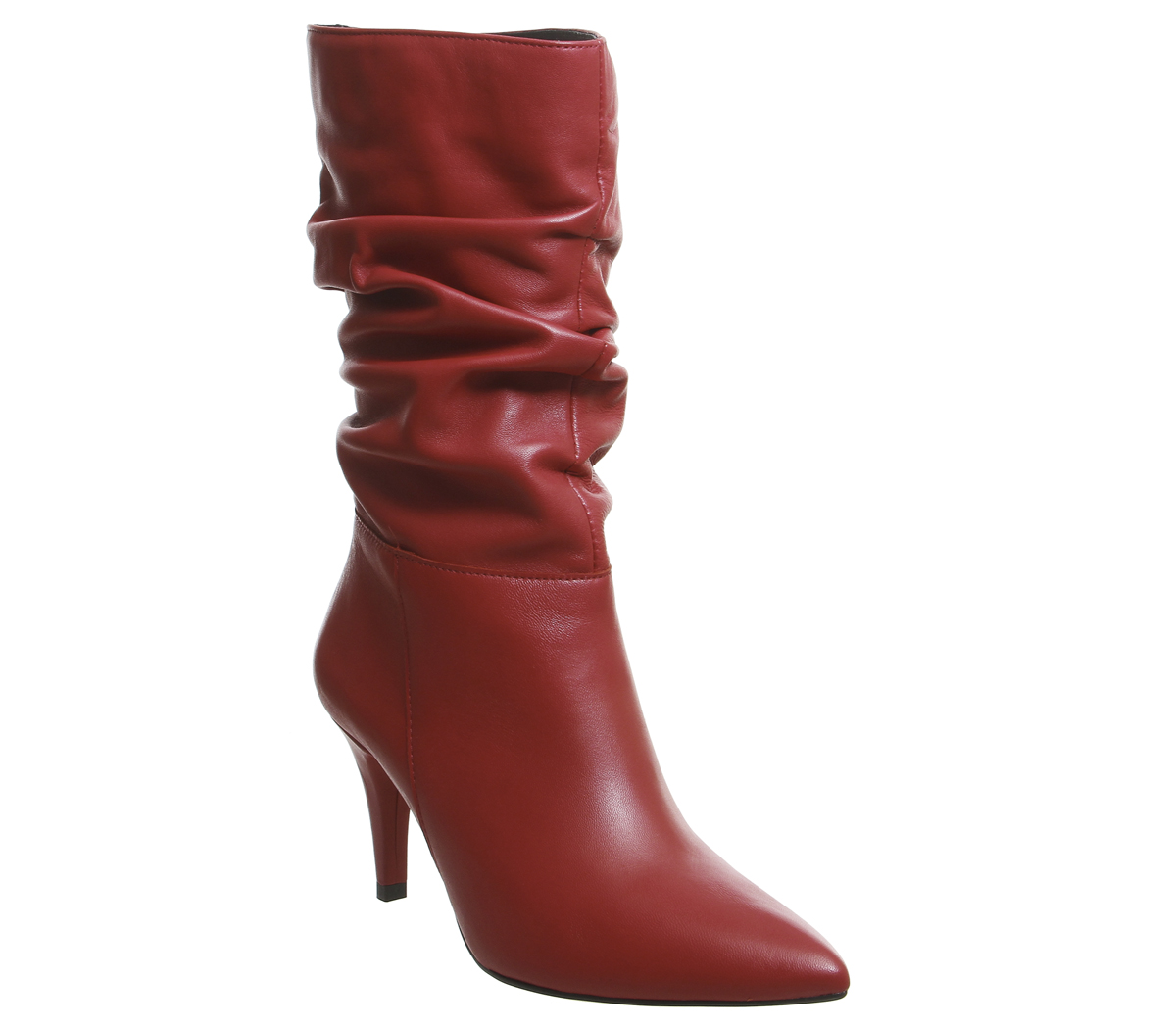 Womens Office Keepsake Calf Boots Red Red Red Leather Boots b20b16