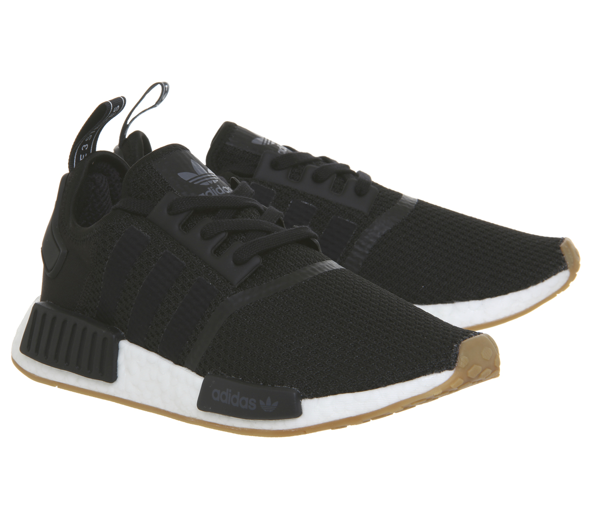newest ea00b b3b02 Sentinel Adidas Nmd R1 Trainers CORE BLACK CORE BLACK GUM Trainers Shoes
