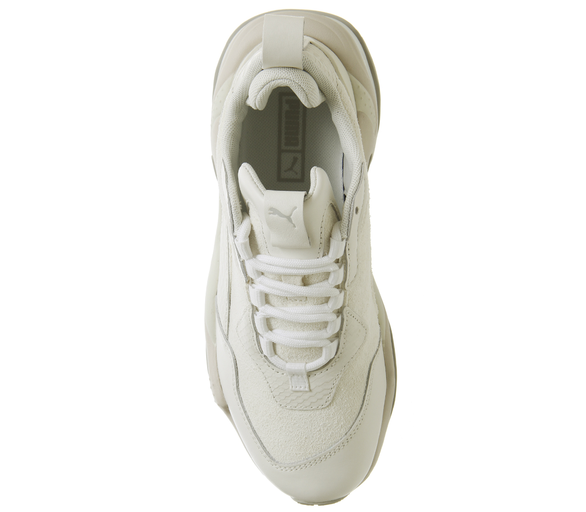 b63e9b52c1c950 Puma Thunder Desert Trainers Bright White Star Grey Violet Trainers ...