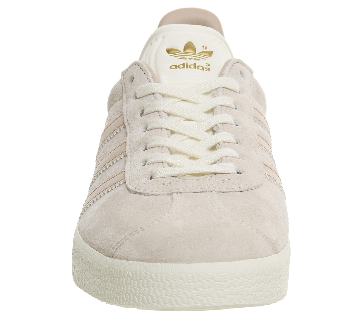 Womens-Adidas-Gazelle-Trainers-LINEN-DUST-PEARL-CREAM-