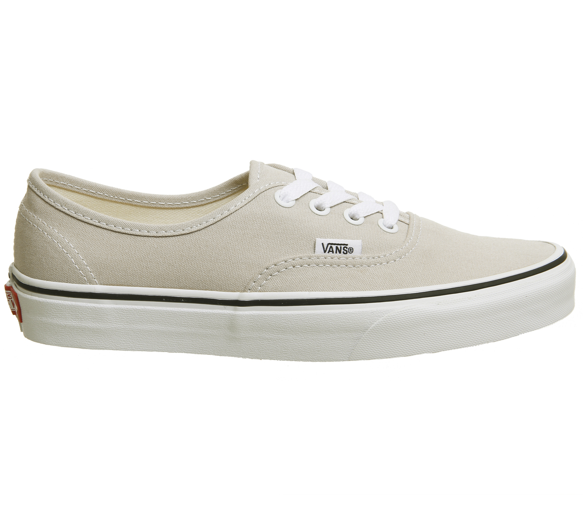 Damenschuhe Vans Authentic Trainers SILVER TRUE WEISS Trainers Schuhes
