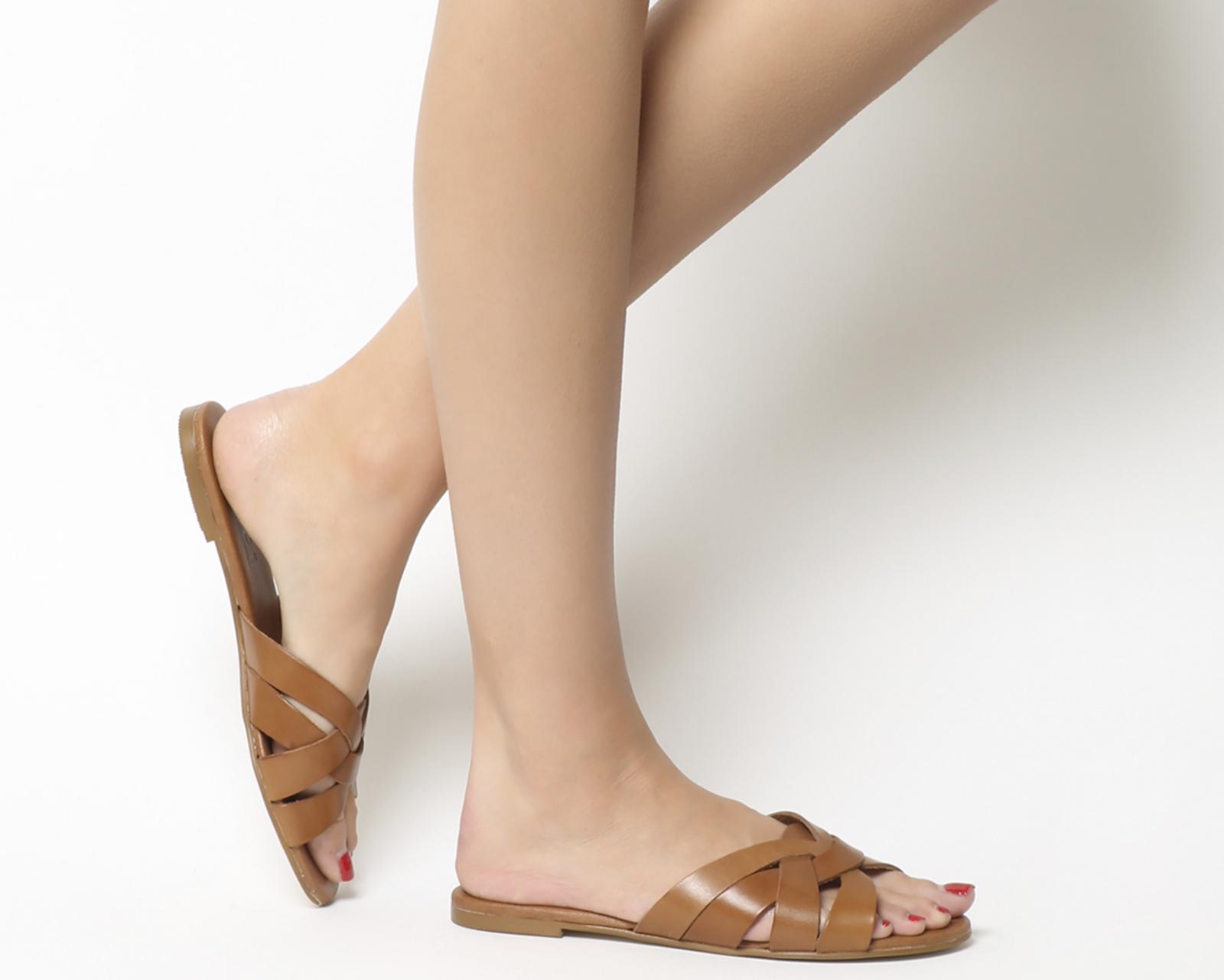0fcfe0cea3978 Sentinel Thumbnail 1. Sentinel Womens Office Saffron Mule Sandals TAN  LEATHER Sandals