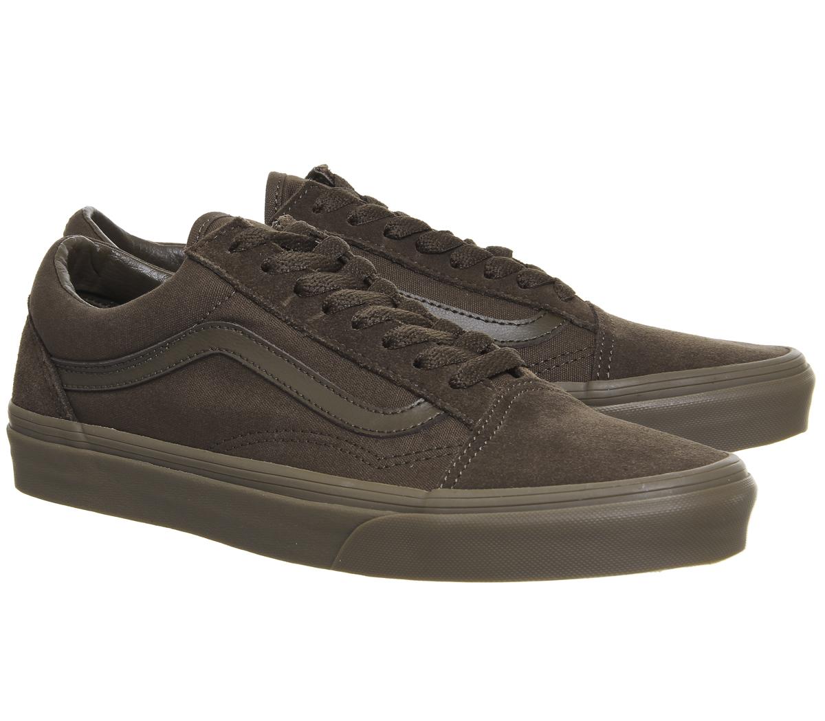 985f7068e07 Zapatillas para hombre Vans Old Skool Dark Earth Gum Zapatillas ...