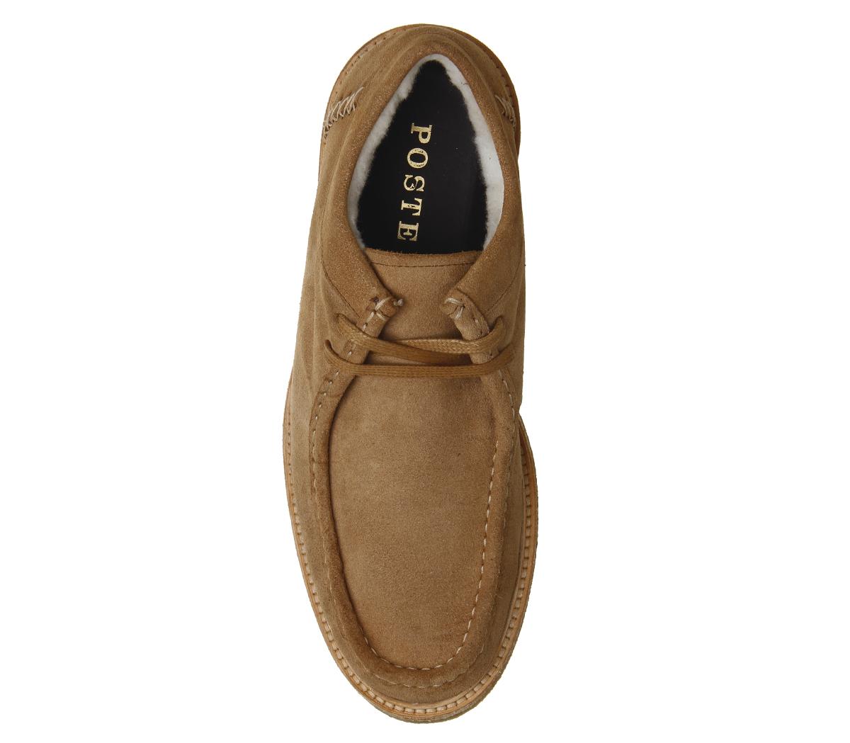 Casual Iberian Mens Tan Moccasins Suede Poste Shoes gXxSq6w