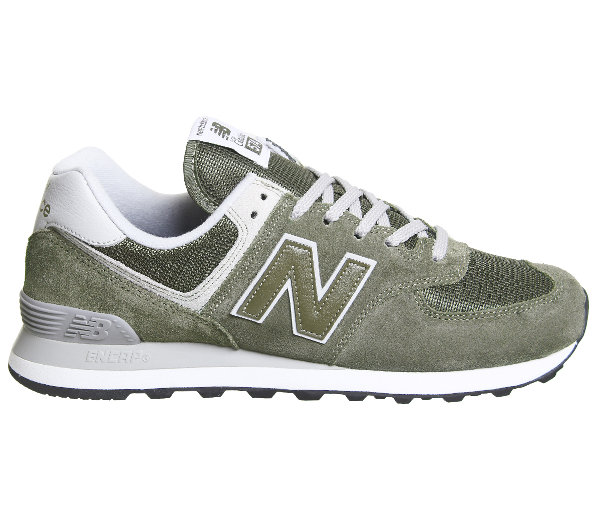 Scarpe New Balance ML 574 GPD Oliva 7