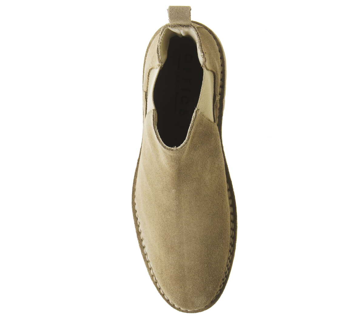 Mens-Office-Impala-Chelsea-Boots-Beige-Suede-Boots thumbnail 9