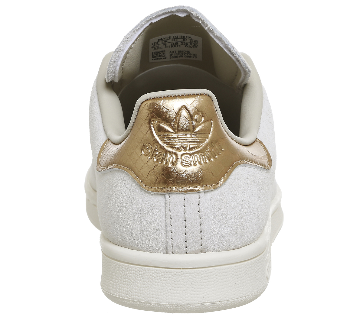 Sentinel Womens Adidas Stan Smith Trainers OFF WHITE COPPER Trainers Shoes 6f7c114b5a