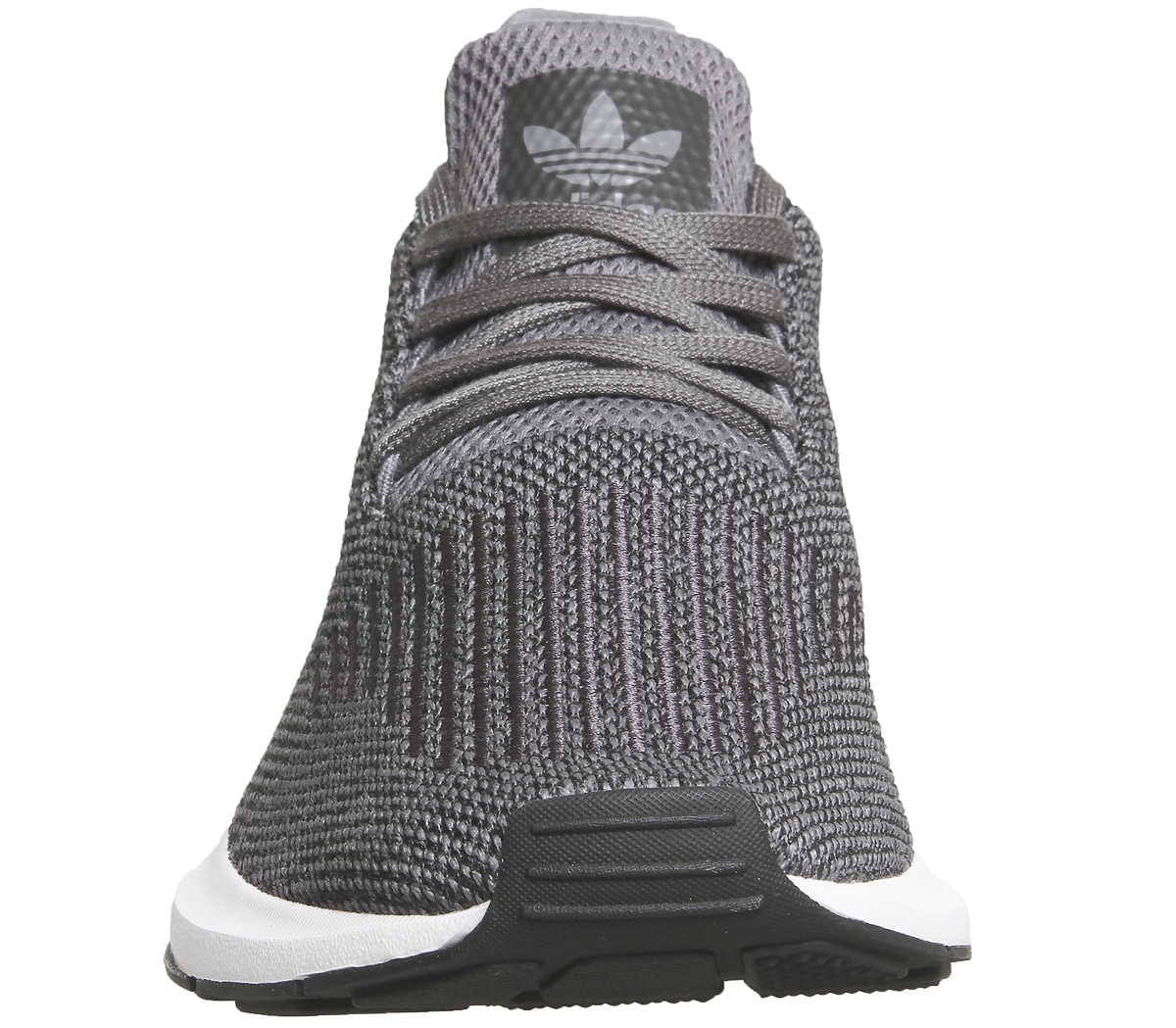 Sentinel Thumbnail 1. Sentinel Adidas Swift Run Trainers GREY FOUR BLACK ... f856567ef