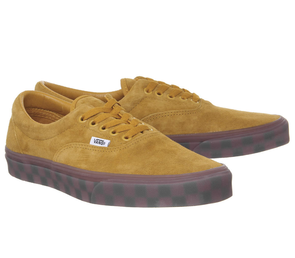 Sentinel Mens Vans Era Trainers Sunflower Checker Ice Sole Exclusive  Trainers Shoes 9037c0756