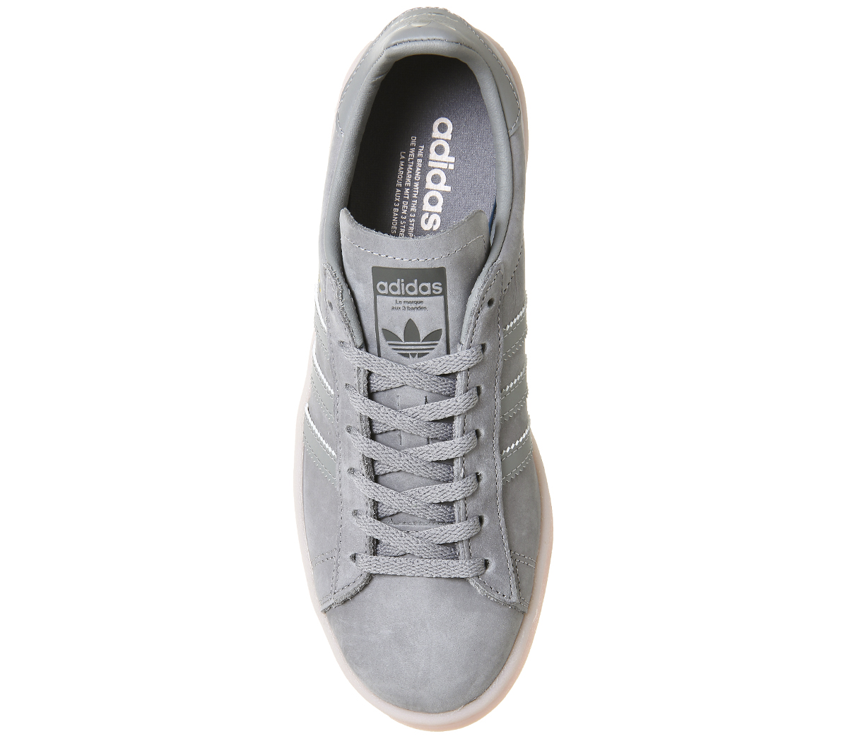 quality design 5f934 3619e Womens-Adidas-Campus-Trainers-GREY-THREE-ICEY-PINK-