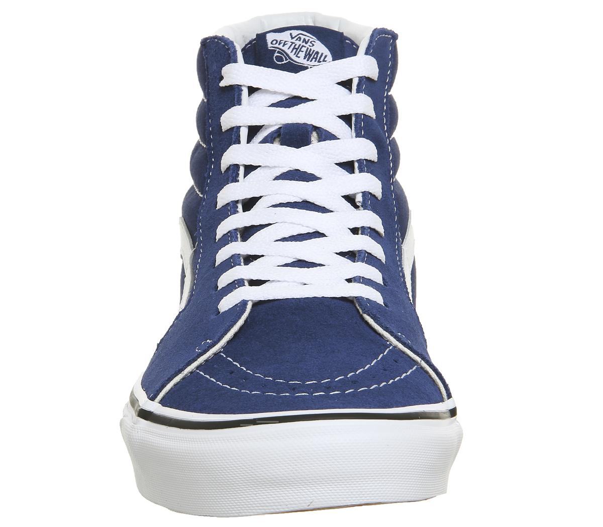 Sk8-Hi Sneakers estate blue / true whiteVans y3bwiLv