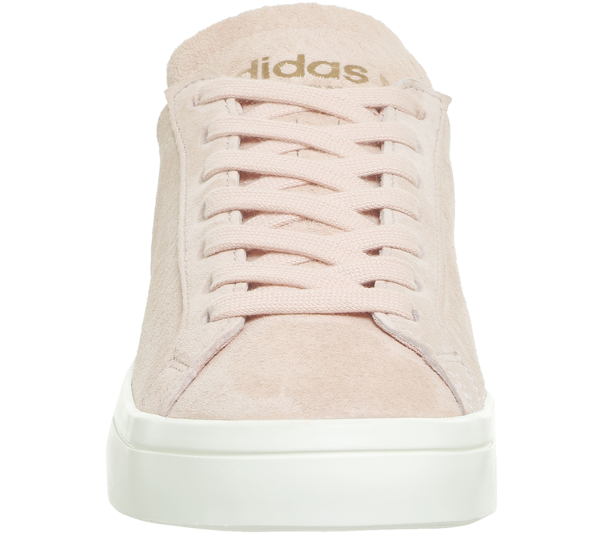 detailed look c7dfc 12924 Sentinel Womens Adidas Court Vantage Trainers VAPOUR PINK OFF WHITE Trainers  Shoes