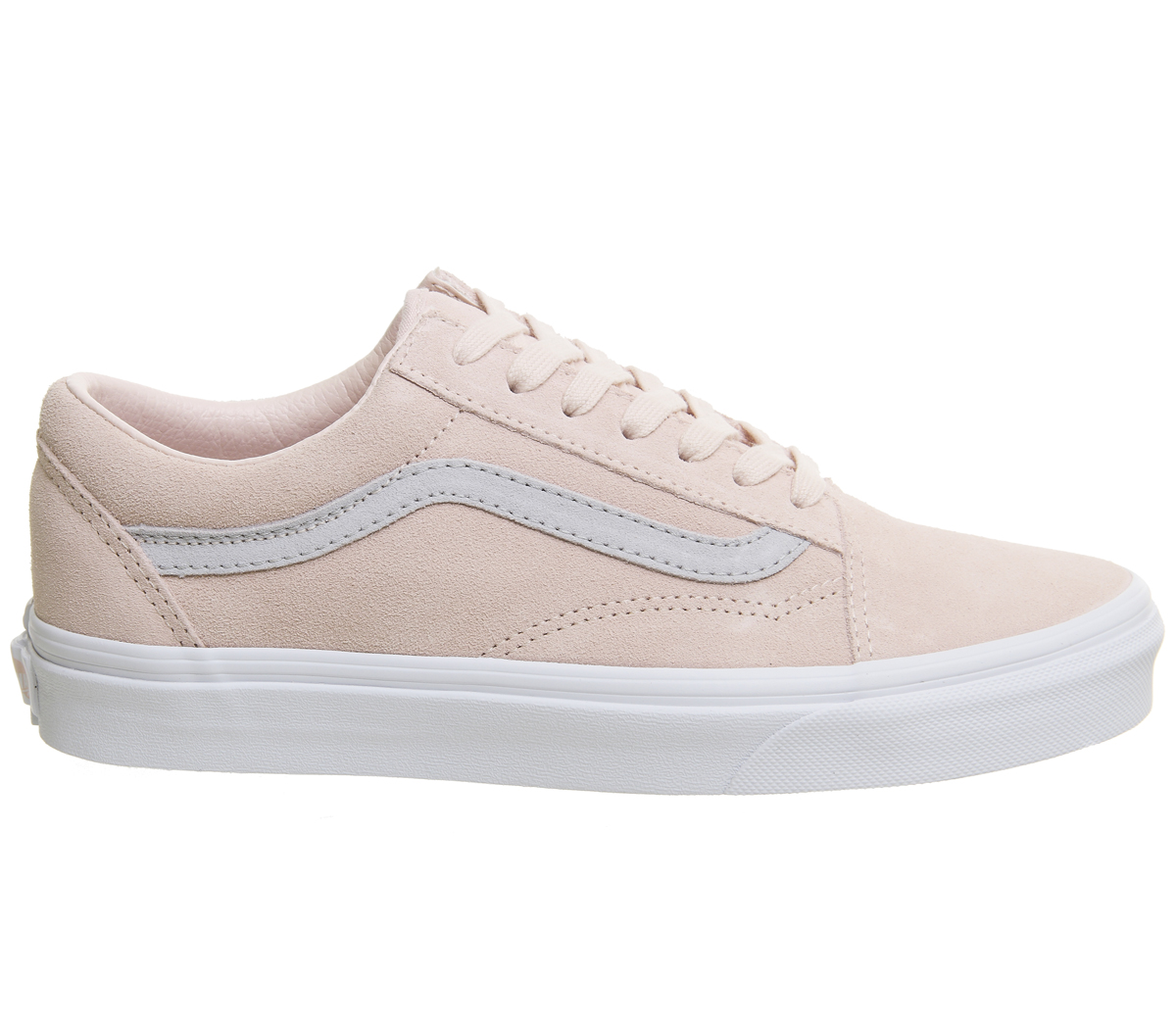 4908a6bc46d Mens Vans Old Skool Trainers PALE PINK GREY EXCLUSIVE Trainers Shoes ...