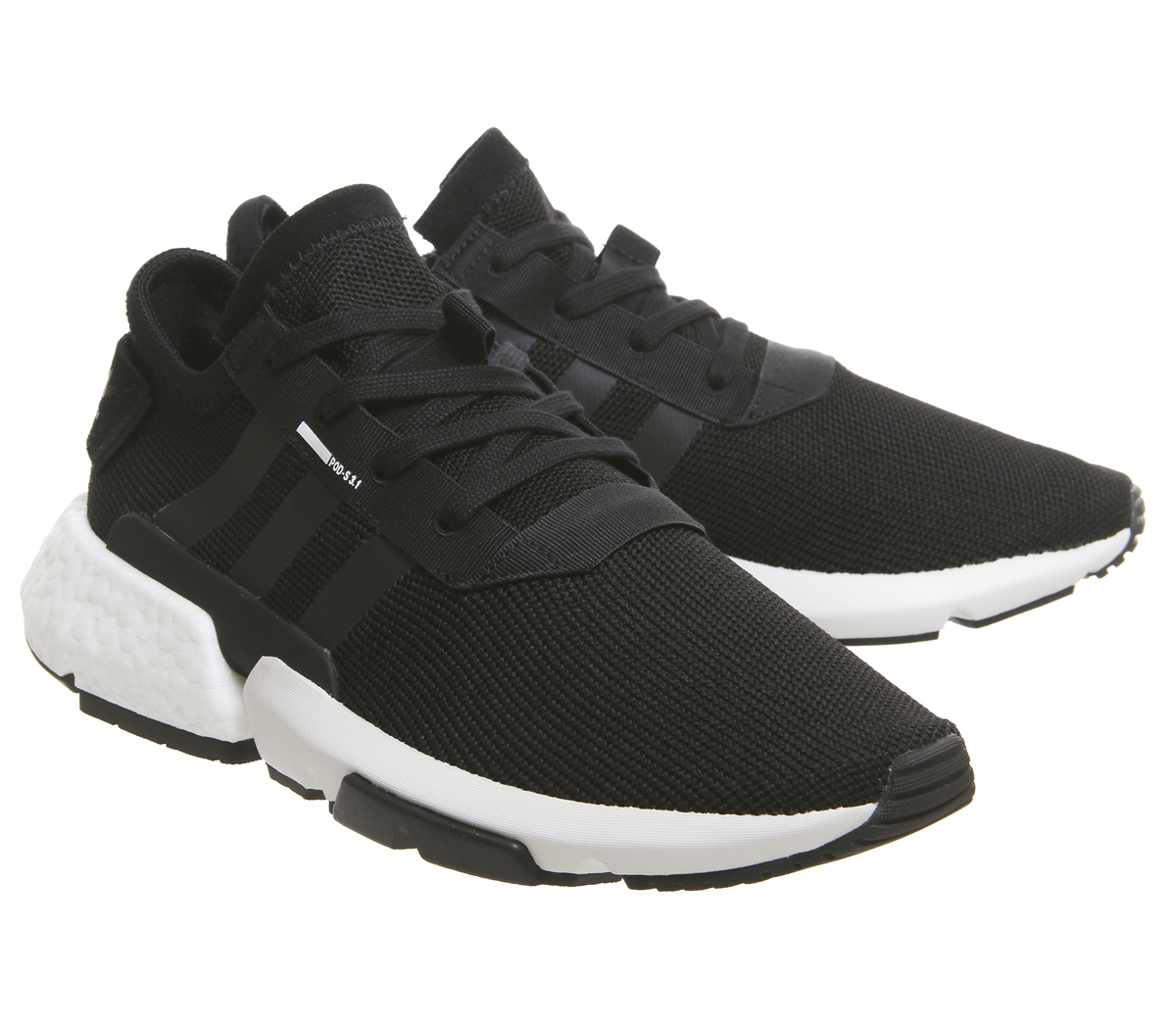 best website be1d8 7d36d Adidas-Pod-S3-1-Trainers-Black-White-Trainers-
