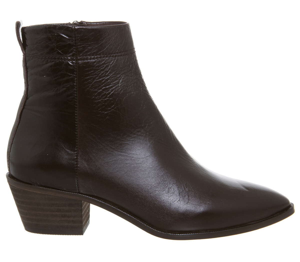 9557506e71 ... chocolate Botas para mujer Corte Oficina Amarillo Alto Botas de cuero,  ...