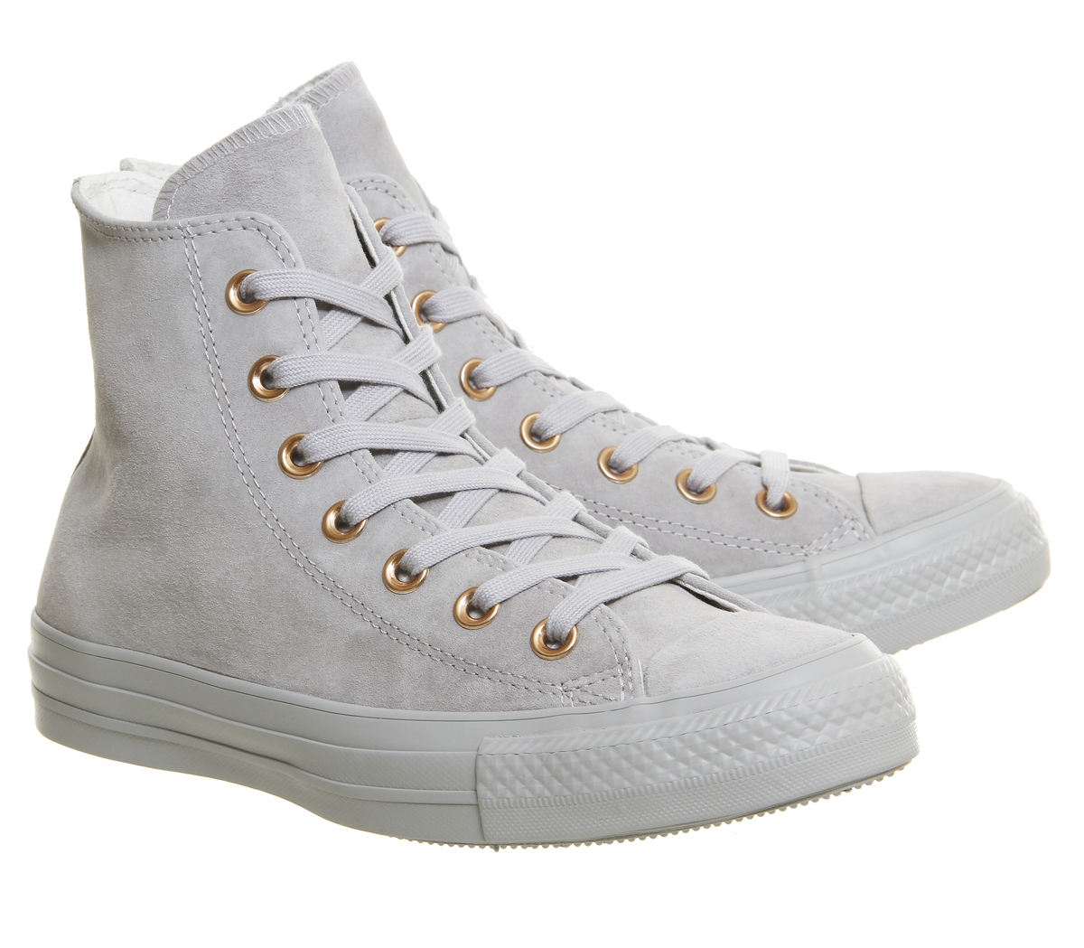 CONVERSE All Star Pelle Ash Grey / Grigio Oro