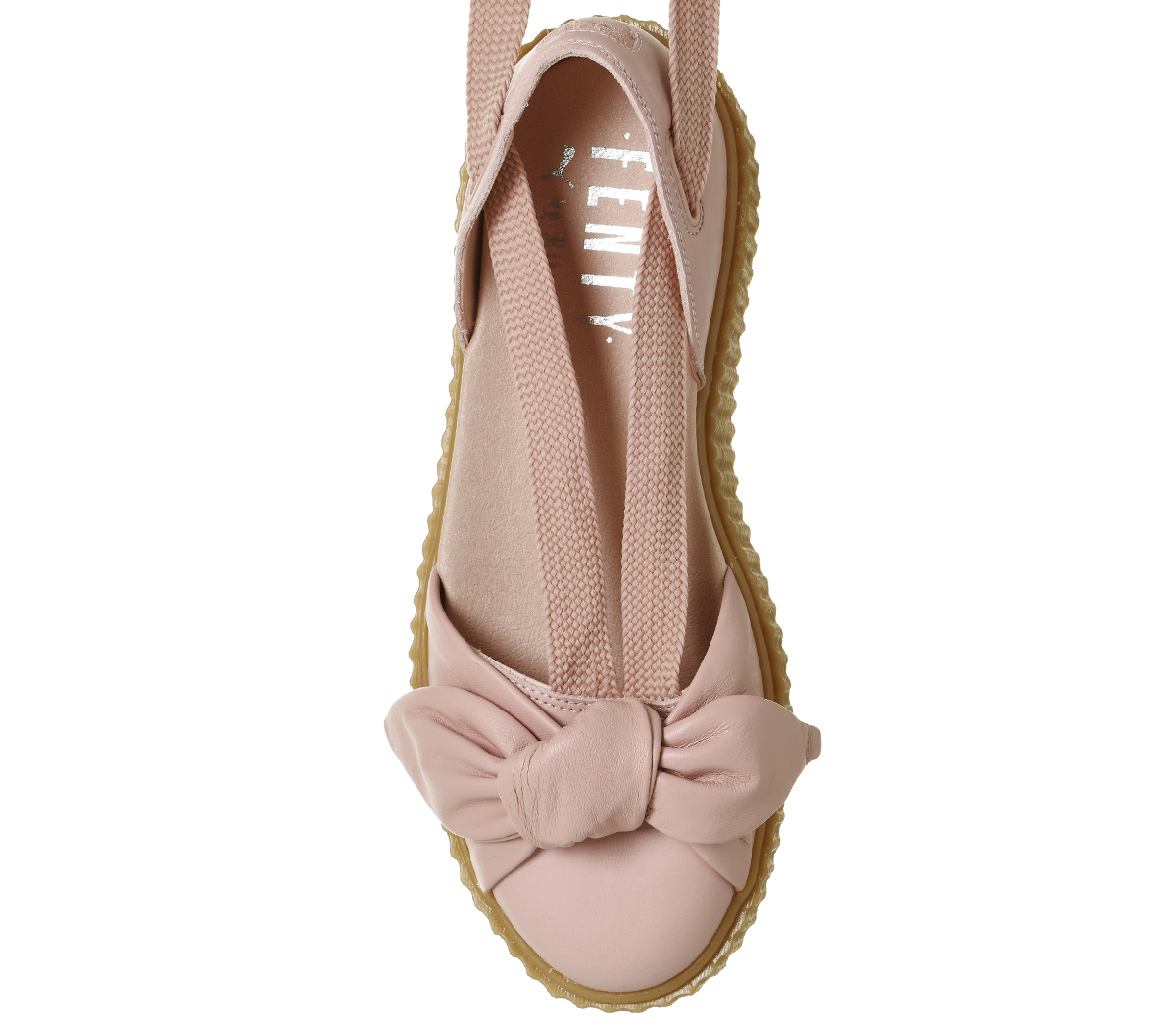 Womens-Puma-Creeper-Ballet-Lace-Pink-Fenty-Sandals thumbnail 3