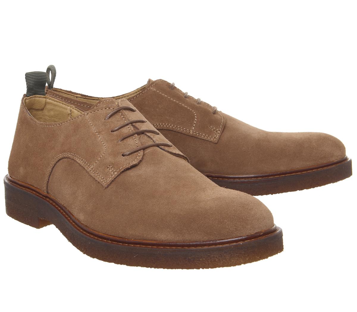 scarpe autunnali 2019 autentico il più economico Dettagli su Uomo office Bloccato Derby Scarpe Ruggine Camoscio Scarpe Casual