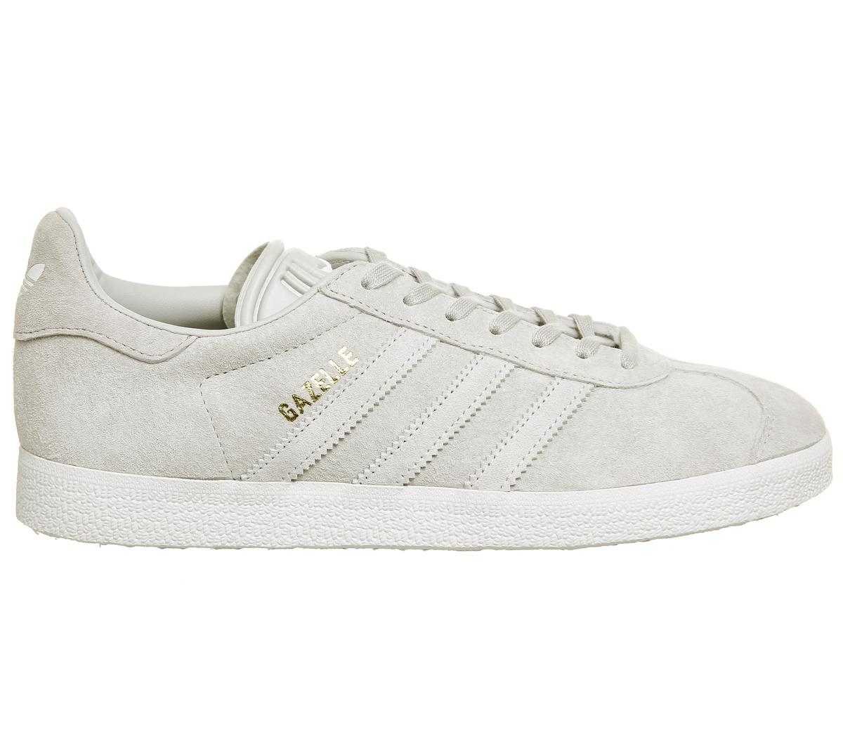 Damenschuhe Adidas Gazelle Trainers GREY TWO ONE Weiß GREY TWO GREY F Trainers Schuhes 84af41