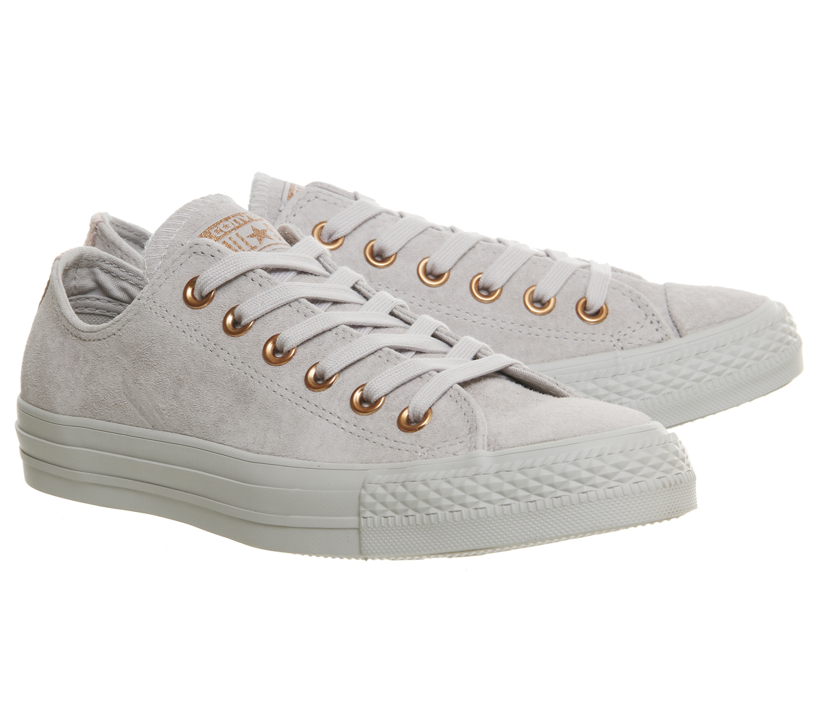 converse leather trainers womens
