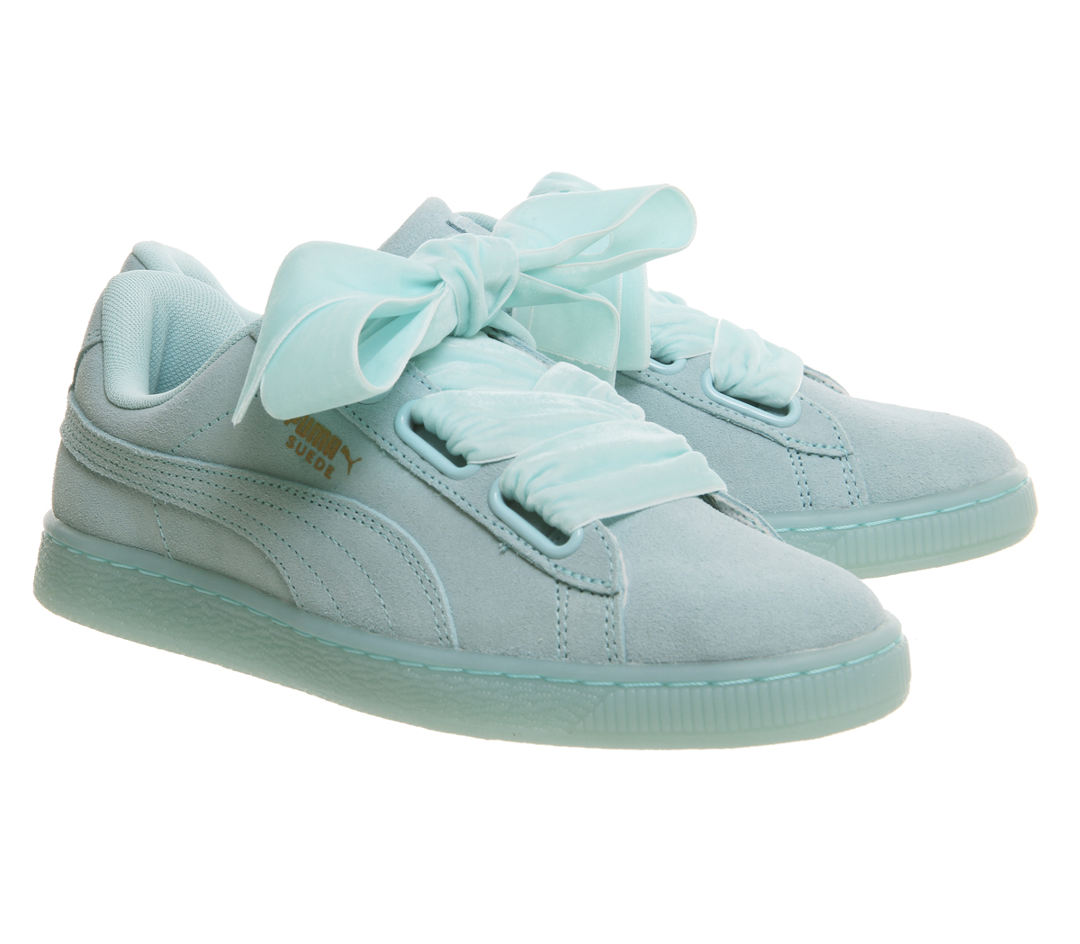 Womens-Puma-Suede-Heart-Trainers