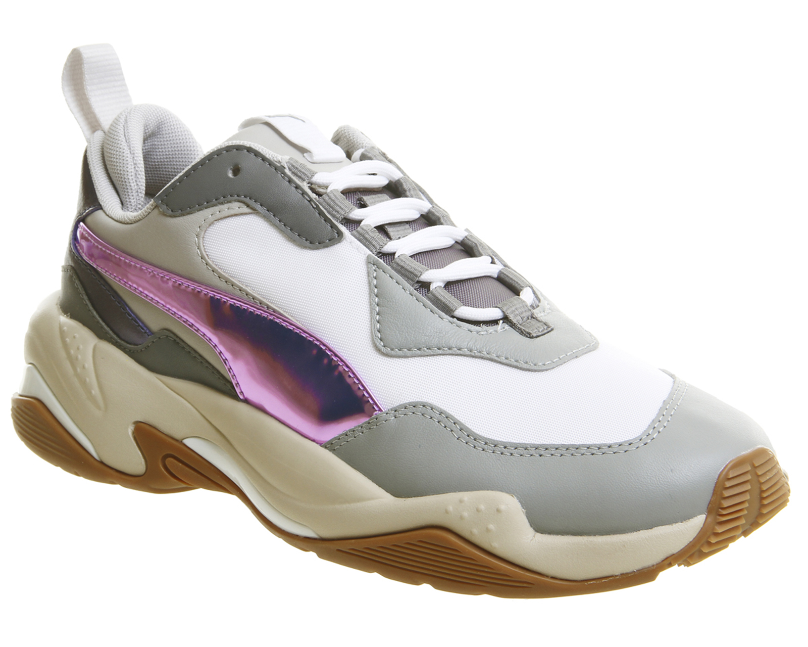 e5c0900303392e Womens Puma Thunder Electric Trainers Quarry Pink Lavender Cement F ...