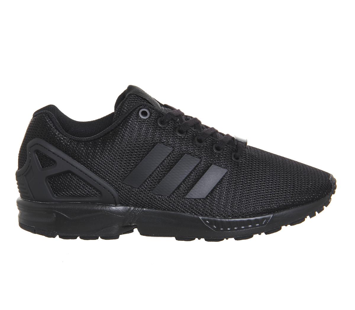 new high high quality new high Homme Adidas ZX FLUX NOIR GRIS FONCÉ Baskets Chaussures | eBay