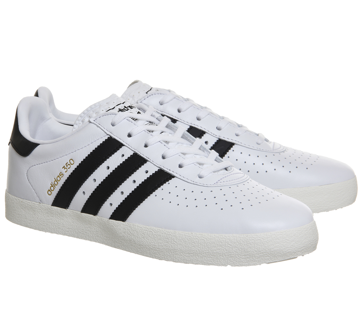 28da6adc3 Adidas Adidas 350 Trainers WHITE BLACK OFF WHITE Trainers Shoes