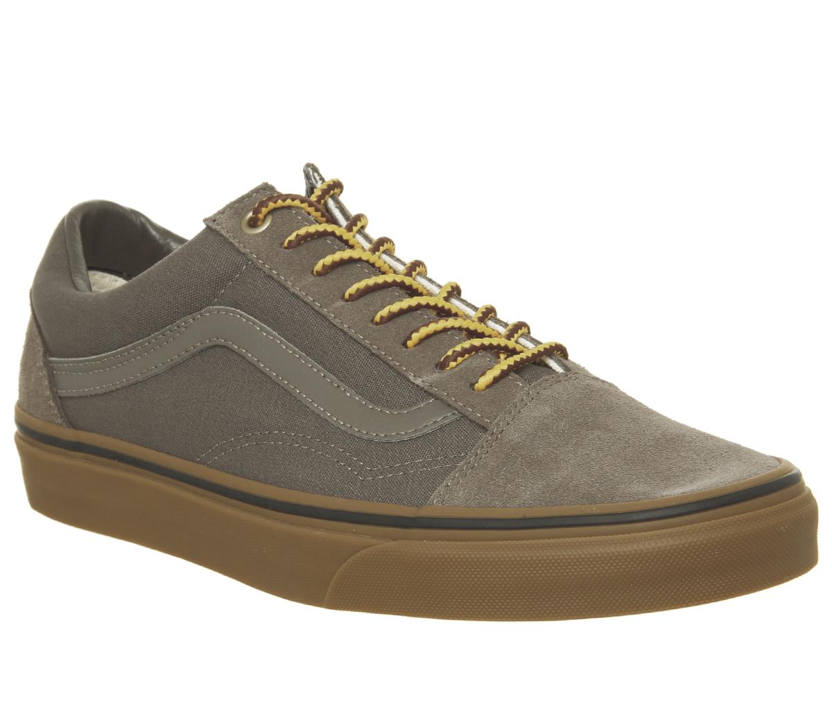 a113055c1f4 Dettagli su Da Uomo Vans Old Skool Sneaker Scarpe Da Ginnastica Falcon Boot  Pizzo Scarpe Da Ginnastica Gumsole- mostra il titolo originale