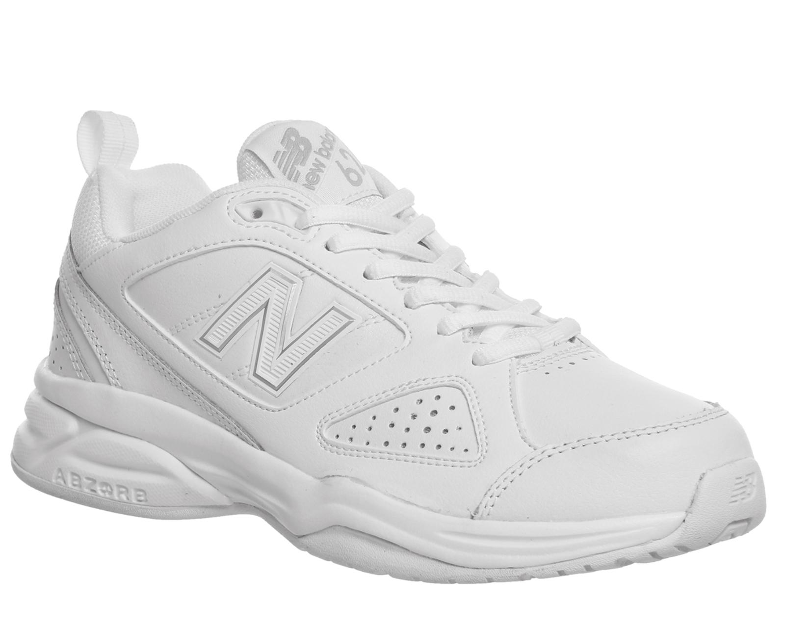 Da Donna New Balance 624 Scarpe da ginnastica White White Scarpe da ginnastica F