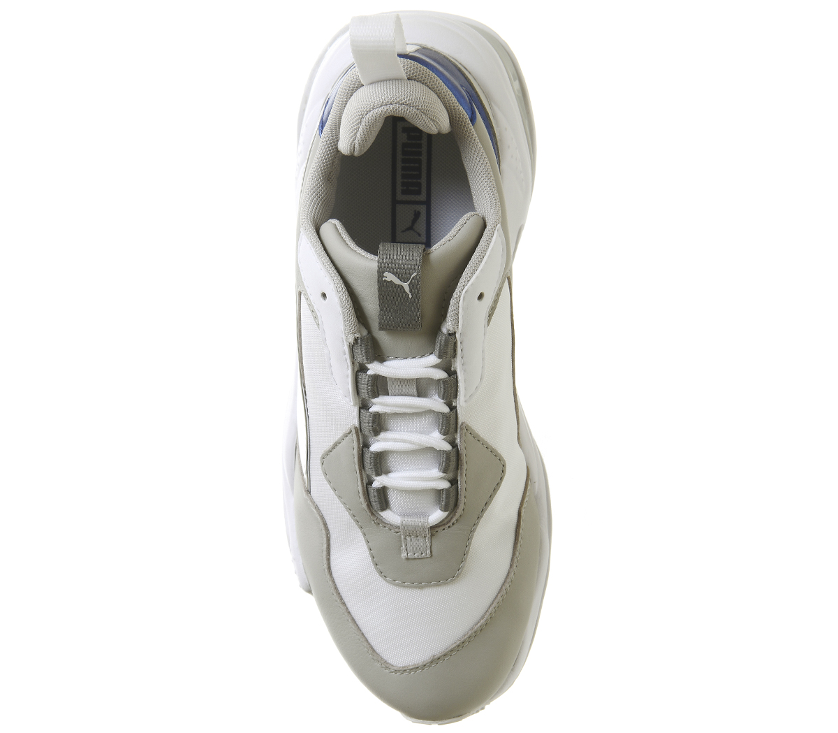 0861de2a1463 Womens Puma Thunder Electric Trainers Puma White Grey Violet Puma ...