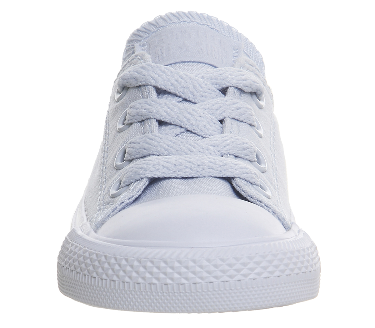 Kids Converse All star Low Infant Trainers PORPOISE BLUE MONO Kids ... b695bd971