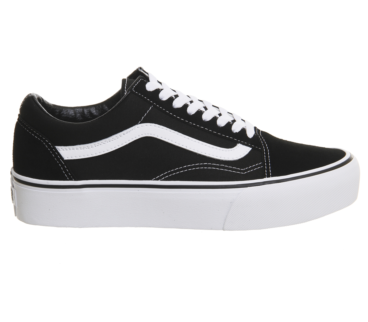 damen vans old skool weiss plattform